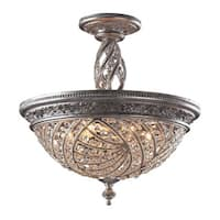 Renaissance 6-light Semi-flush