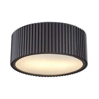 Brendon 2-light Flush Mount in Oil Rubbed Bronze