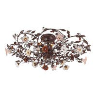 Cristallo 6-light Semi-flush