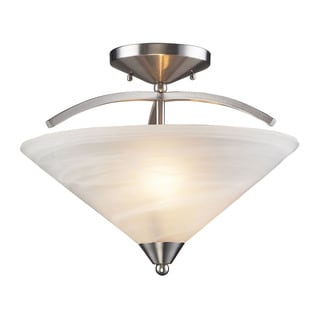 Elysburg 2-light Semi Flush