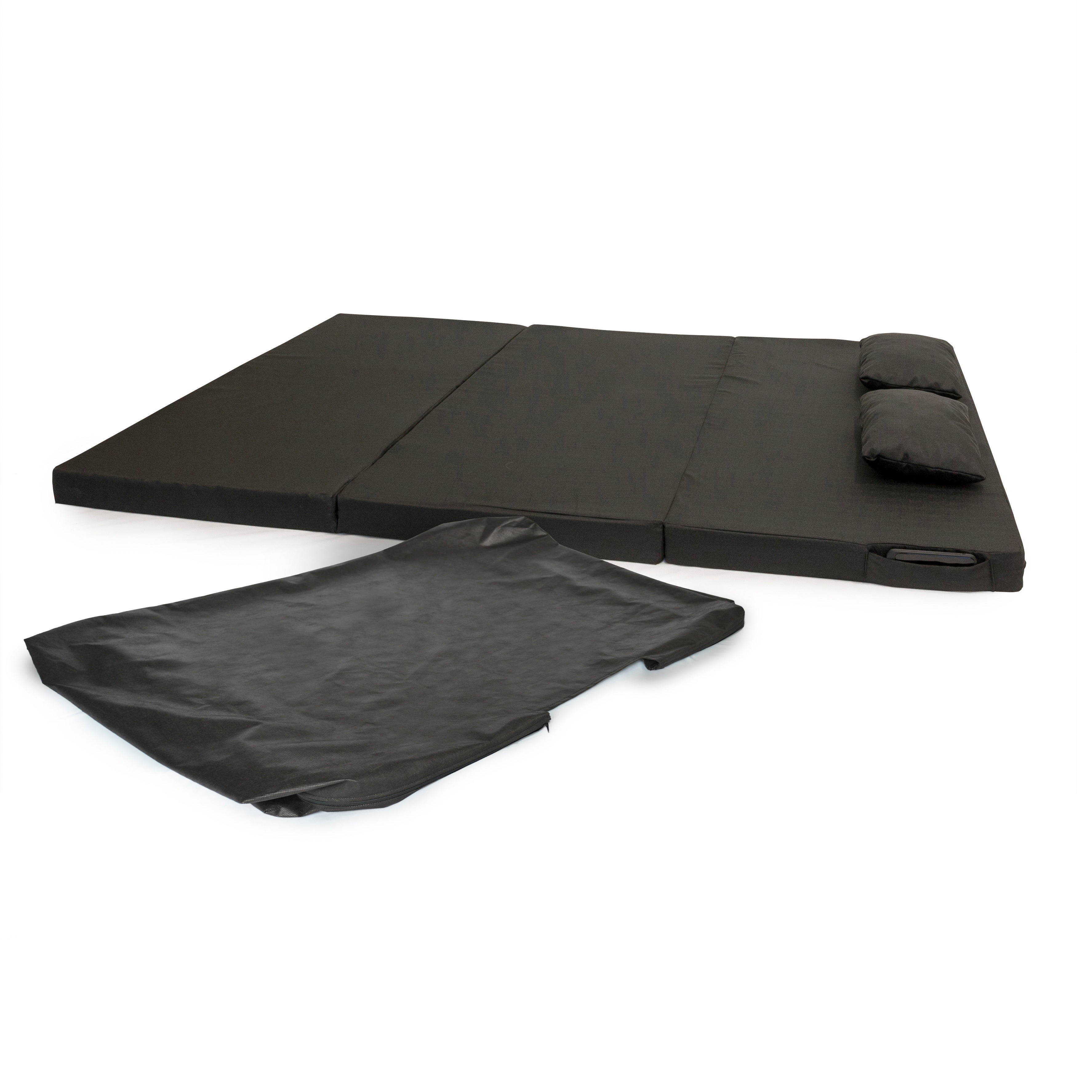 Integrity Bedding Tri-fold 75-inch Portable Foam Mat Pad ...