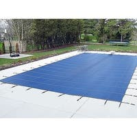 WATERWARDEN 'Made to Last' 14 x 26 ft. Pool Safety Cover for 12 x 24 ft. Pools