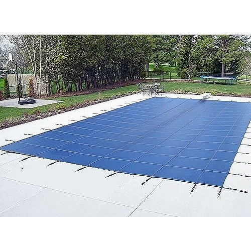 Water Warden Pool Safety Cover for a 16' x 32' Pool Green...