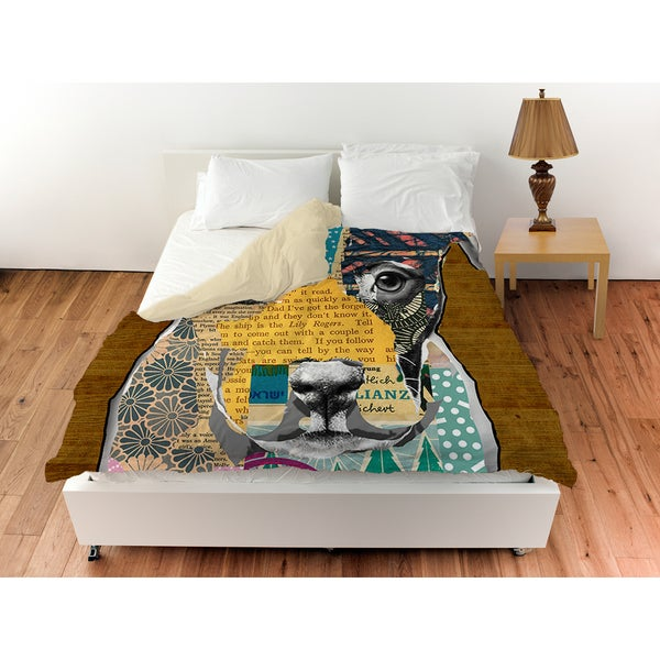 Pattern Collage Pit Duvet Cover