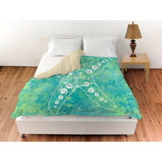 Sponge Paint Starfish Duvet Cover