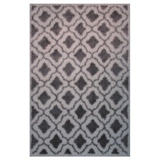 Power-Loomed Timber Collection Charcoal Rug (5' x 8')