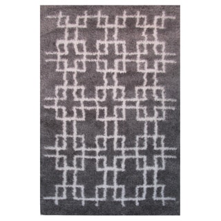 Power-Loomed Timber Collection Slate Rug (5' x 8')