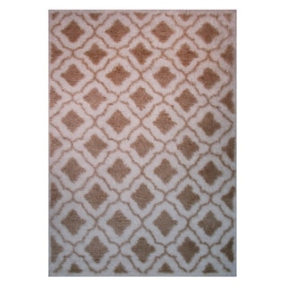 Power-Loomed Timber Collection Gold Rug (5' x 8')