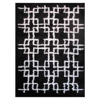 Power-Loomed Timber Collection Onyx Rug (5' x 8')