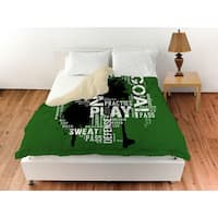 Soccer Goal Win Play Duvet Cover
