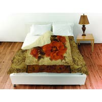 Spice Flower II Duvet Cover