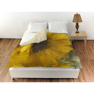 Sunflowers Square II Duvet Cover