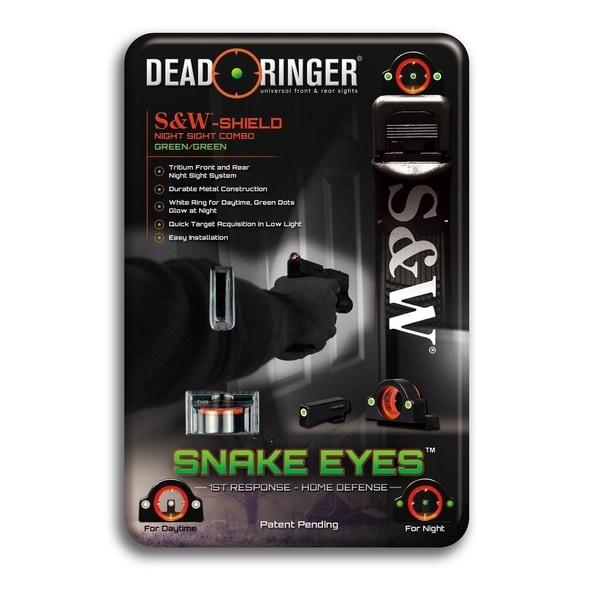 Dead Ringer SandW Shield-3: Green Handgun Sight