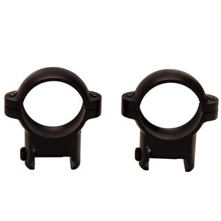 Burris Signature 1-inch Zee Rings High Black Matte