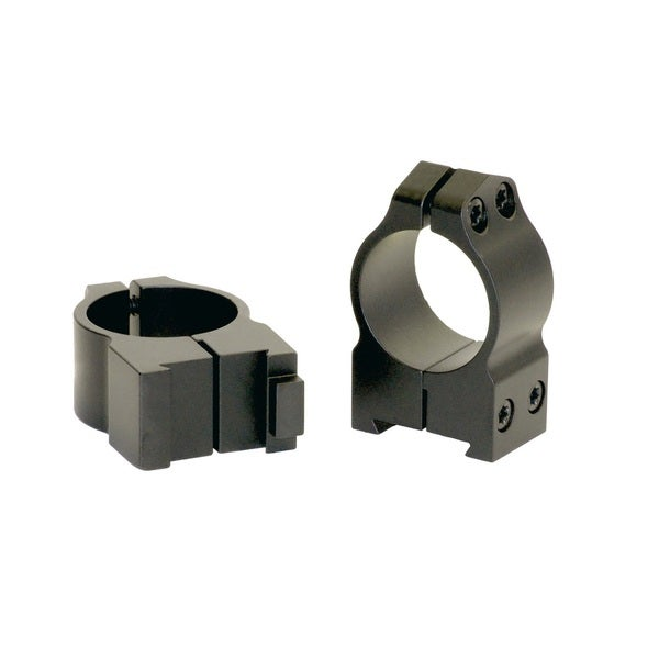 Warne  1 inch  CZ 550 Permanently Attached  Med Matte  Rings