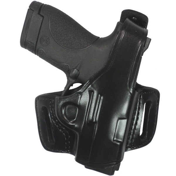 GandG  Black Belt Slide Holster  With Thumb Break Fits