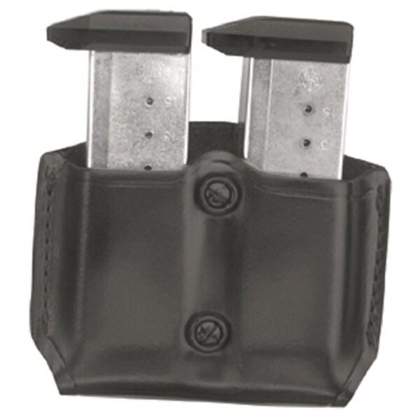 GandG  Black  Double Mag Case with Belt Loops