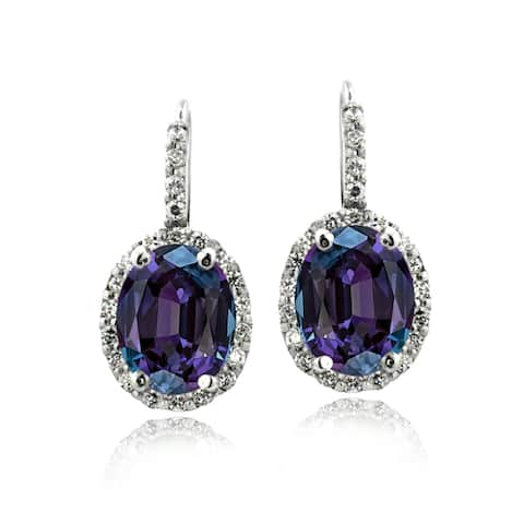31eee894d Leverback, Purple Earrings | Find Great Jewelry Deals Shopping at ...