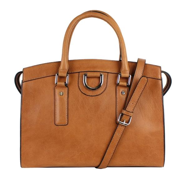 Emile M. Jenna Satchel Handbag. Opens flyout.
