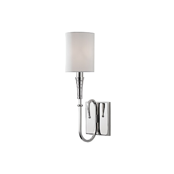Hudson Valley Lighting Kensington 1 Light Wall Sconce Polished Nickel