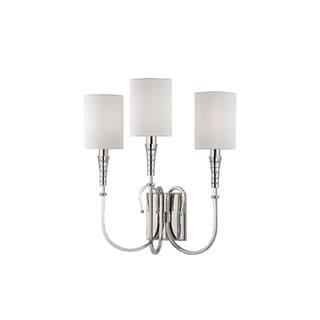 Link to Hudson Valley Lighting Kensington 3-light Wall Sconce, Polished Nickel Similar Items in Sconces