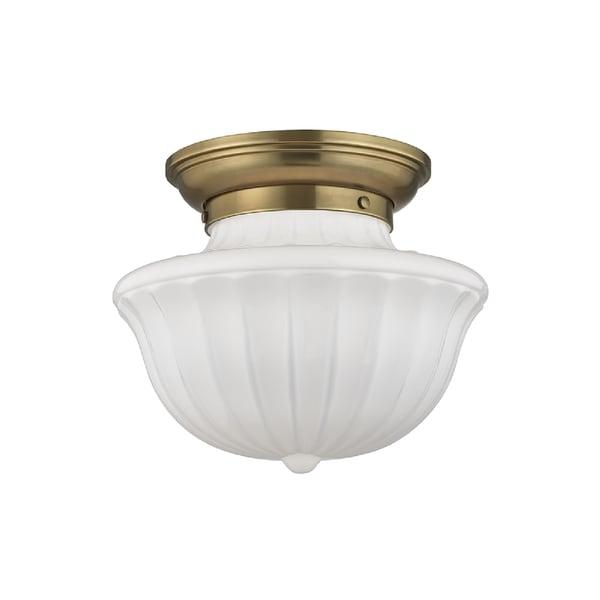 Hudson Valley Lighting Dutchess: Shop Hudson Valley Lighting Dutchess 1-light Medium Flush