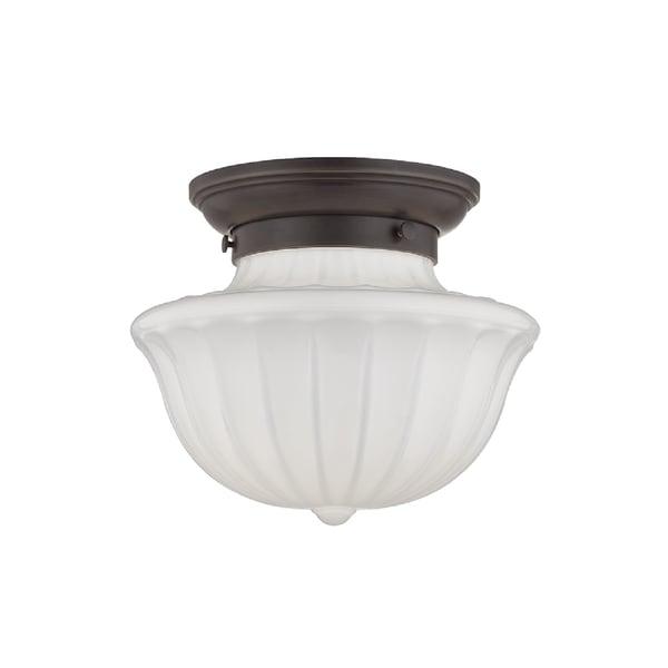 Hudson Valley Lighting Dutchess: Shop Hudson Valley Lighting Dutchess 1-light Small Flush