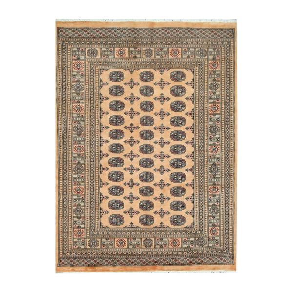 Herat Oriental Pakistani Hand-knotted Bokhara Wool Rug (5'2 x 7')