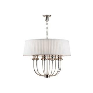 Hudson Valley Lighting Pembroke 12-light Pendant, Polished Nickel