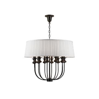 Hudson Valley Lighting Pembroke 12-light Pendant, Old Bronze