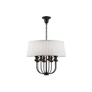 Hudson Valley Lighting Pembroke 8-light Pendant, Old Bronze