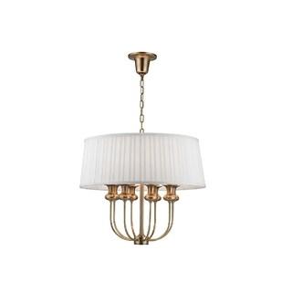 Hudson Valley Lighting Pembroke 8-light Pendant, Aged Brass