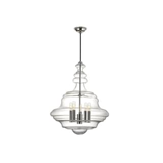 Hudson Valley Lighting Washington 5-light Large Pendant, Nickel