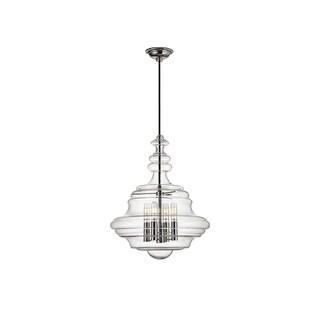 Hudson Valley Lighting Washington 4-light Small Pendant, Nickel