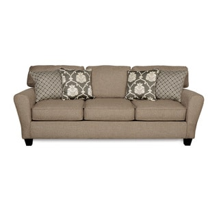 Sofab Aubrey Grande Three Seat Sofa With Four Reversible Accent Pillows