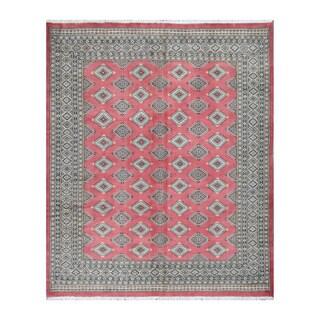 Herat Oriental Pakistani Hand-knotted Bokhara Wool Rug (6'9 x 8'3)|https://ak1.ostkcdn.com/images/products/10217712/P17339743.jpg?_ostk_perf_=percv&impolicy=medium