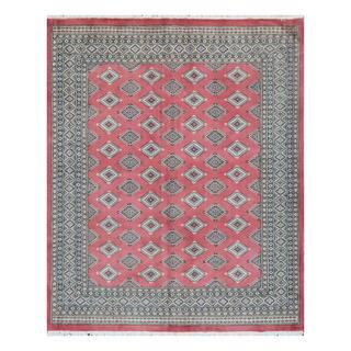 Herat Oriental Pakistani Hand-knotted Bokhara Wool Rug (6'9 x 8'3)|https://ak1.ostkcdn.com/images/products/10217716/P17339747.jpg?impolicy=medium
