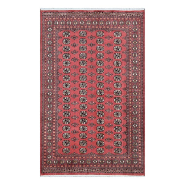 Pakistan Bokhara Rugs In Red: Shop Handmade Herat Oriental Pakistani Bokhara Red/ Black