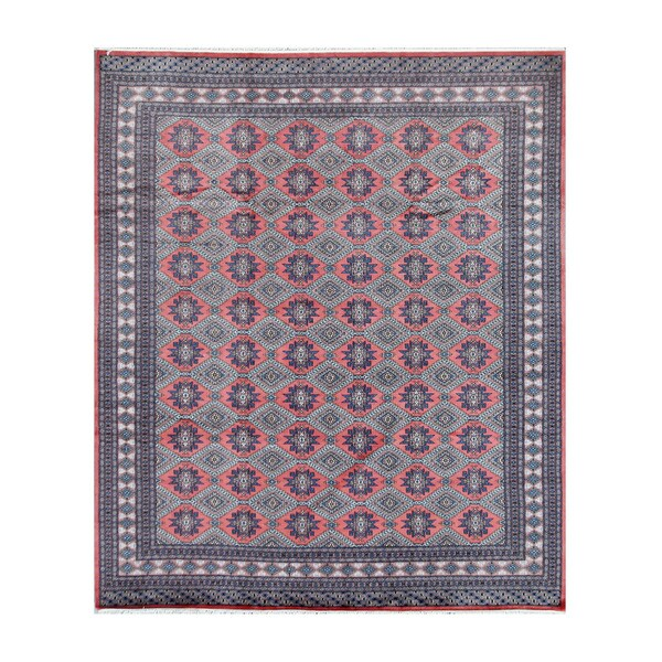 Persian Bokhara Hand Knotted Wool Area Rug: Shop Herat Oriental Pakistani Hand-knotted Bokhara Salmon
