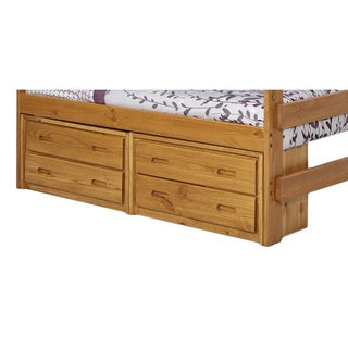 Woodcrest Heartland Collection 2-drawer Underbed Storage