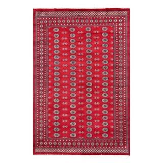 Herat Oriental Pakistani Hand-knotted Bokhara Wool Rug (8'2 x 9'9)