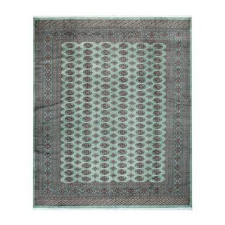 Herat Oriental Pakistani Hand-knotted Bokhara Wool Rug (8'4 x 10'2)