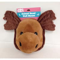 Goffa Animated Plush Moose Head with Wall Mount