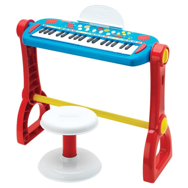 Shop Fisher Price Play Along Keyboard With Stool Free