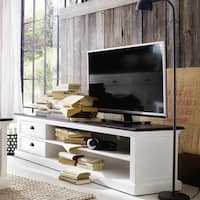 The Gray Barn Ora Mahogany Large Entertainment Center