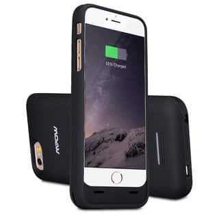 Mpow MFI Certified 3100mAh External Battery Backup Phone Case for Apple iPhone 6|https://ak1.ostkcdn.com/images/products/10217901/P17339909.jpg?impolicy=medium