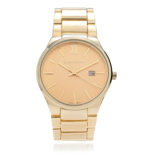 Journee Collection Women's Large Face Link Watch