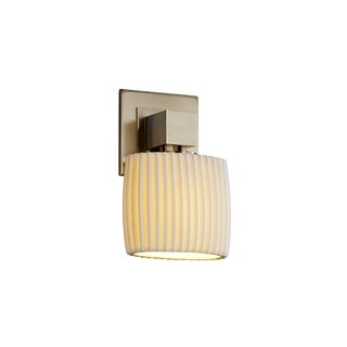 Justice Design Group Limoges Aero ADA Sconce Oval (No Arms)