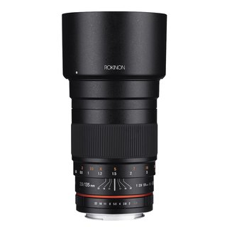 Rokinon 135mm F2.0 ED UMC Telephoto Lens for Nikon Digital SLR Cameras with Built-in AE Chip