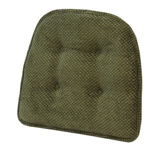 Rembrandt Green Tufted Chair Pad (Set of 2) (Option: Green)|https://ak1.ostkcdn.com/images/products/10218835/P17340607.jpg?impolicy=medium